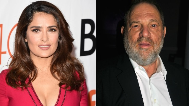 Salma Hayek Says Harvey Weinstein is 'My Monster too' and Threatened To Kill Me