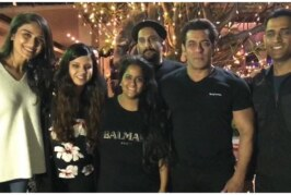 Watch: Salman Khan Dances To 'Shape Of You' At His Birthday Bash, MS Dhoni, Katrina In Presence!