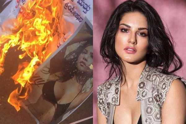 Protest Against Sunny Leone's New Year Performance in Bengaluru, Activists Threaten Mass Suicide!