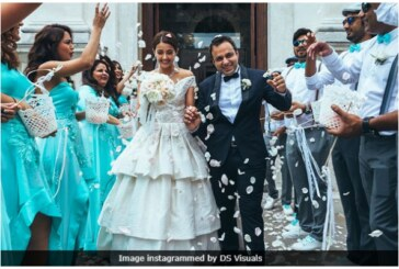 Actress Surveen Chawla Shares Her Fairy-tale Wedding Pics From Italy!