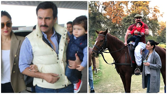 Taimur Ali Khan's Pre-Birthday Celebrations Begin With First Horse Ride With Dad Saif