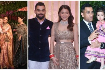 Inside Photos: SRK, Madhuri, Kangana, Dhoni At Virushka's Grand Wedding Reception In Mumbai!