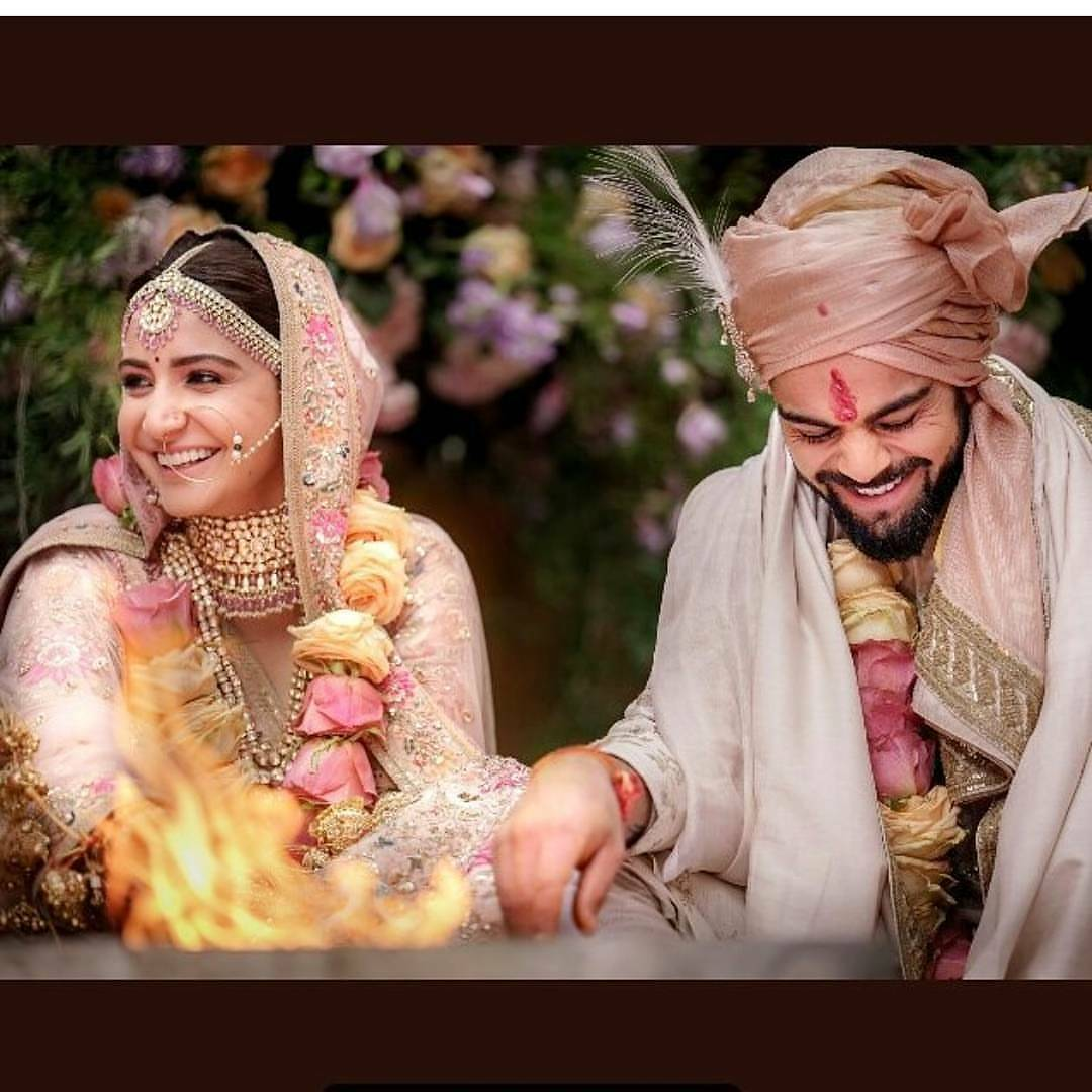 Virat Kohli Anushka Sharma Are Married