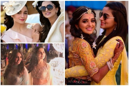 PICS – Alia Bhatt Plays The Perfect Bridesmaid At Her Friend's Wedding In Jodhpur!