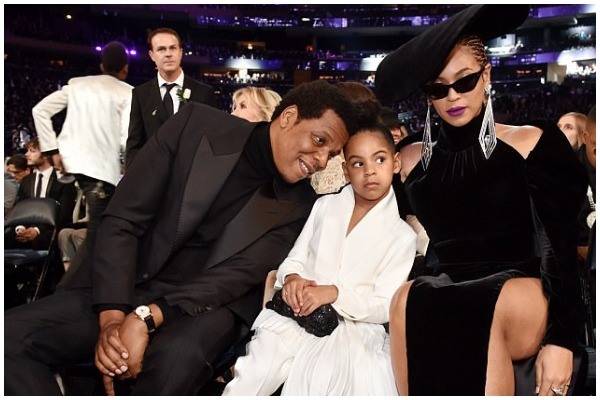 VIRAL! Beyoncé, JAY-Z's Daughter Blue Ivy Quiets Them From Clapping At Grammy Awards 2018