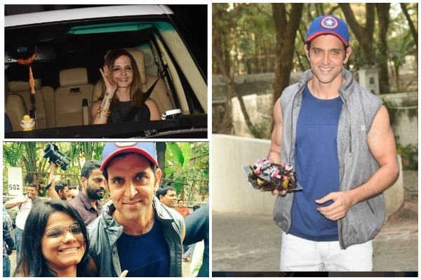 Sussanne Khan, Sonali Bendre, Others At Hrithik Roshan's Birthday- See Pics
