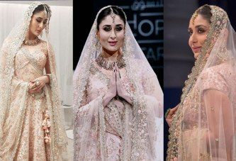 Viral Pics: Keerena Kapoor's Bridal Look in Vikram Phadnis Lehenga Is So Mesmerizing!