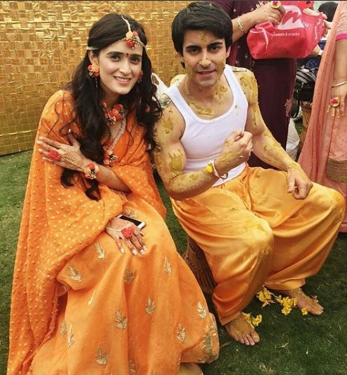 Gautam Rode Pankhuri married