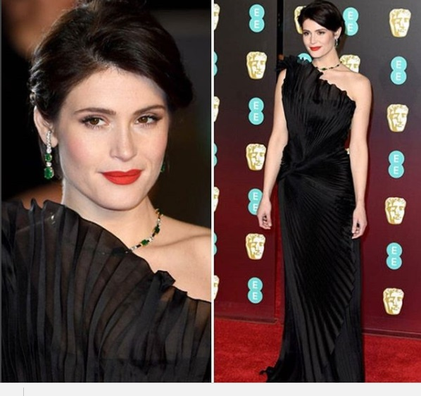 Gemma Arterton Best Dressed BAFTA 2018