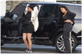Kylie Jenner Looks Slim As She Is Seen For First Time Since Birth Of Stormi – See Pics