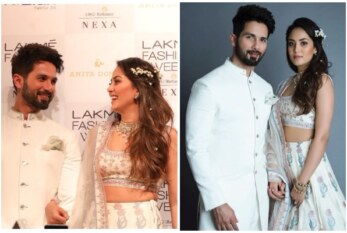 Shahid Kapoor- Mira Rajput Walk Hand-in-Hand As Showstoppers For Anita Dongre At Lakme Fashion Week 2018 Day1