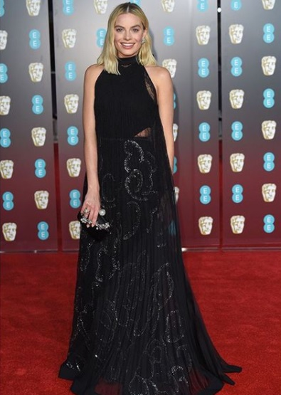 Margot Robbie Best Dressed BAFTA 2018