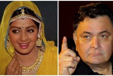 Rishi Kapoor Slammed Media For Addressing Late Sridevi As A Body!