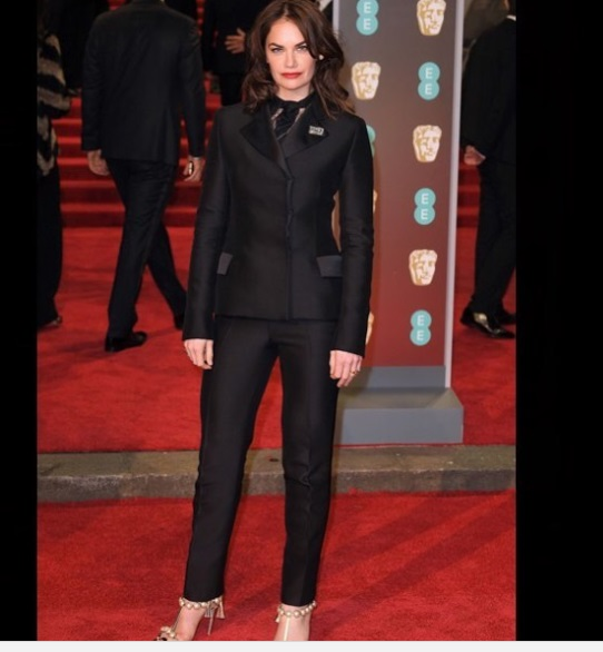 Ruth Wilson Best Dressed BAFTA 201