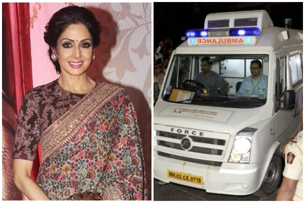 Sridevi's Funeral Update: Actor's Remains Arrive In Mumbai At Her Residence; Funeral Today!
