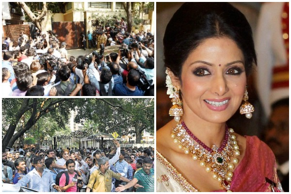 Sridevi's Funeral: 40 Buses With Fans From Telangana, Chennai & Karnataka To Arrive Mumbai To Pay Homage