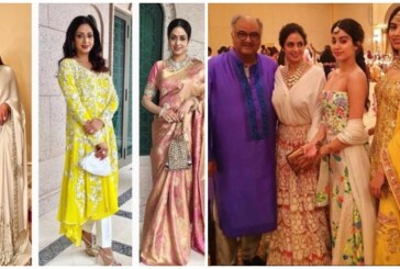 Latest Pics Of Sridevi With Her Family Before Her Sudden Death Makes Us Think Life Is Unpredictable