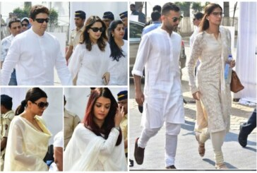 Sridevi Funeral: Sonam Kapoor, Aishwarya, Sushmita & Others Arrive To Pay Last Respects To Their Chandni!