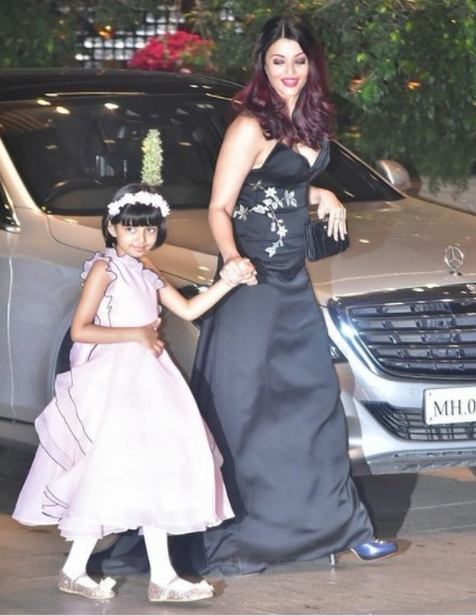Aishwarya Rai Bachchan at Akash Ambani And Shloka Mehta's Engagement Party