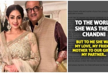 "Boney Kapoor's Emotional Note On Losing Sridevi: ""Our Lives Will Never Be The Same Again"""