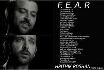 "Hrithik Roshan's Powerful Message To All Sons And Daughters: ""Don't Fear The Fear"""