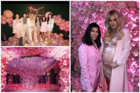 Inside Pics: Khloé Kardashian's Luxurious Baby Shower Is All Pink and Beautiful