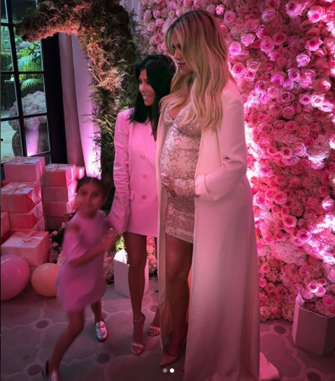 Khloé Kardashian's Luxurious Baby Shower