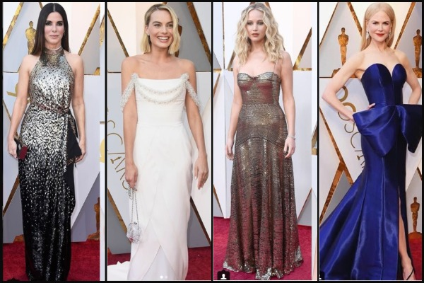 Oscars 2018 Best Dressed: Nicole Kidman, Margot Robbie, Jennifer Lawrence Aced The Red Carpet Look