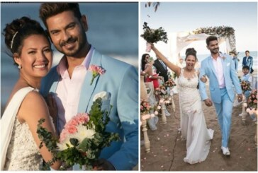 PHOTOS: Bigg Boss 9 Couple Rochelle Rao, Keith Sequeira Tied The Knot In A Dreamy Beach Wedding