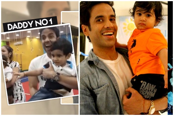 Tusshar Kapoor Dancing With Son Laksshya Is The Cutest Thing You'll Watch Today!