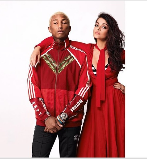 Aishwarya Rai Bachchan, Pharrell Williams' Pictures