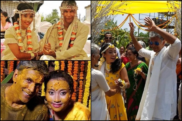 SEE PICS: Milind Soman and Ankita Konwar Are Now Married!