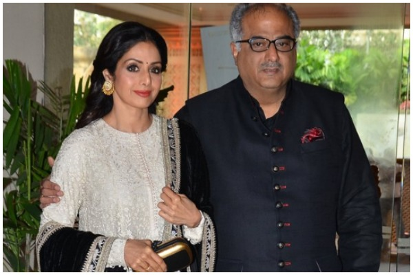 Boney Kapoor Registers Three Titles For A Documentary On Late Wife Sridevi