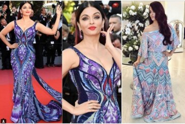 Aishwarya Rai Bachchan Shows Off Her Curves In A Butterfly Dress At Cannes 2018