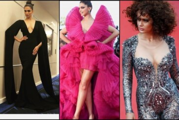 Cannes 2018: Deepika Padukone Paint Cannes In Fiery Pink; Kangana Ranaut Is Striking In A Catsuit