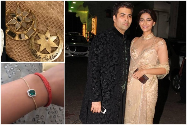 Karan Johar's Gift to Sonam Kapoor On Her Wedding: Diamond Earrings, Silver Bangles & much more