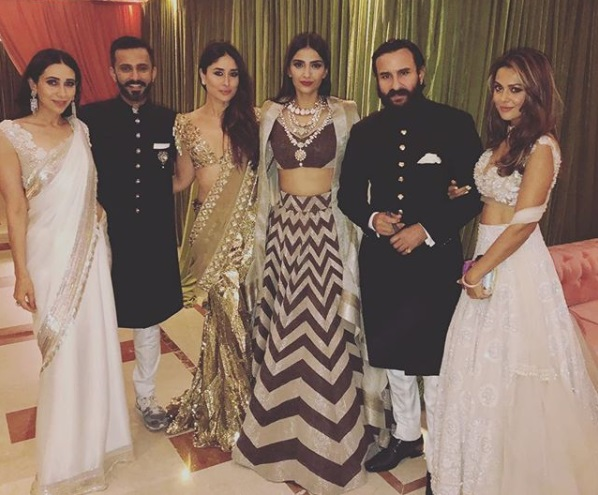 Sonam Kapoor, Anand Ahuja's Wedding Reception