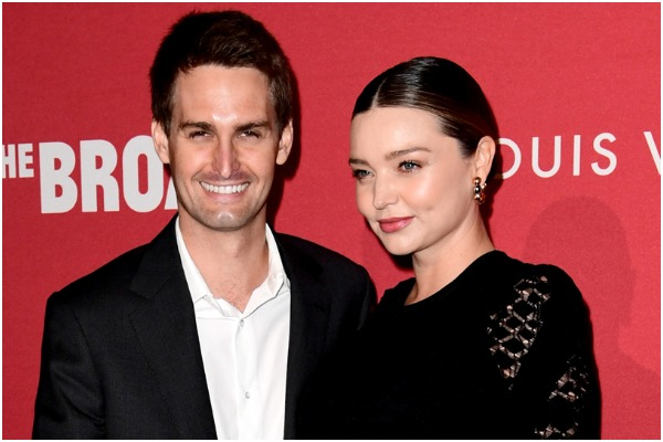 Actress Miranda Kerr and Snapchat CEO Evan Spiegel Welcome a Baby Boy