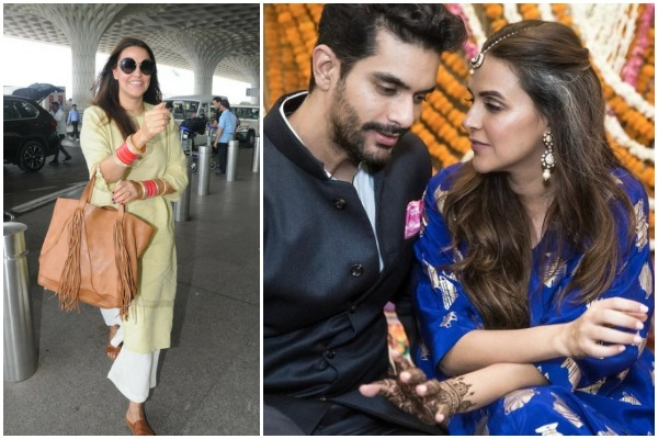 Is Pregnancy The Reason Behind Neha Dhupia-Angad Bedi's Hush-Hush Wedding?