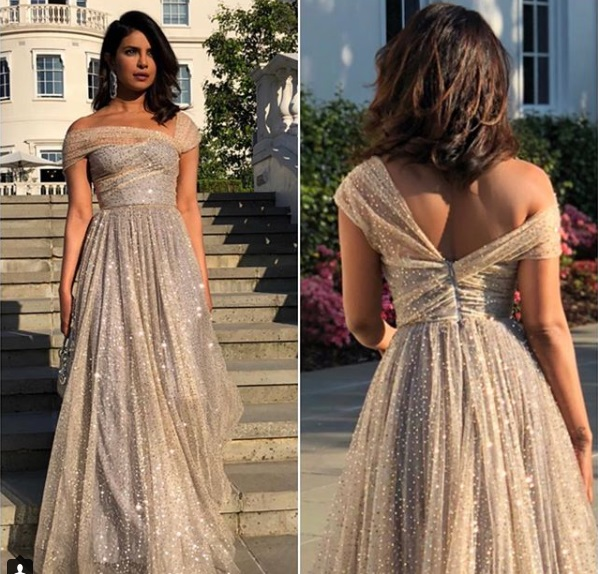 Priyanka Chopra at royal wedding
