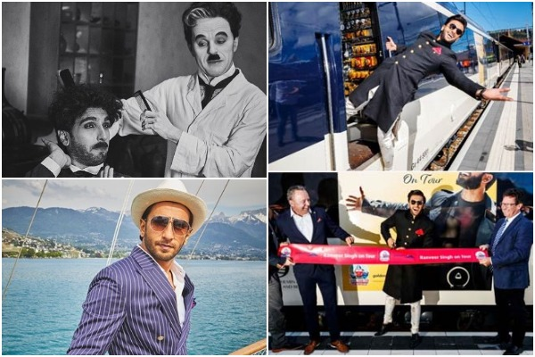 Swiss Train Named After Bollywood Star Ranveer Singh As 'Ranveer on Tour' – See Pics