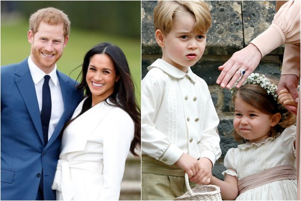 Bridesmaids & Pageboys Announced For Meghan Markle, Prince Harry's Royal Wedding