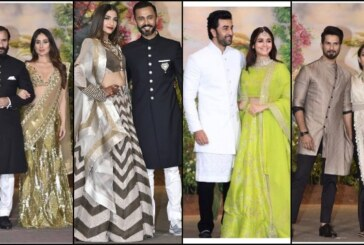 B-Town Couples Kareena-Saif, Shahid-Mira, Abhishek-Aishwarya at Sonam Kapoor, Anand Ahuja's Wedding Reception