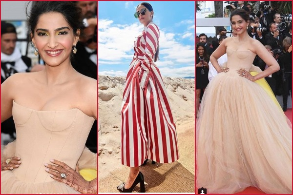 Cannes 2018 Day 2: Sonam Kapoor Ahuja Is Ruling Red Carpet In Stylish Summer Ball Gown