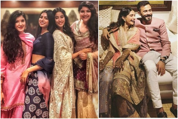 Sonam Ki Mehendi: Inside Pics Of The Rocking Bride and Her Veeres Having Blast