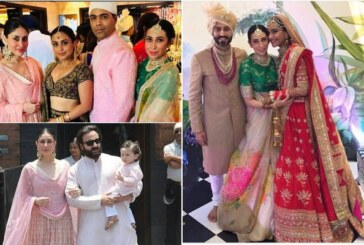 Sonam Kapoor, Anand Ahuja Are Married; Kareena, Karisma, Ranveer, Bachchan Attend