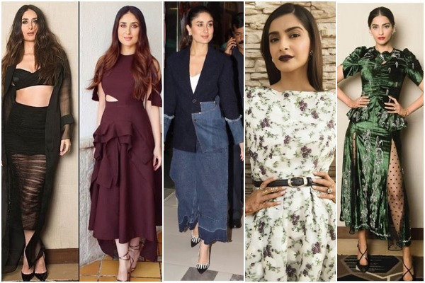 Veeres Kareena Kapoor, Sonam Kapoor Ahuja At Their Fashionable Best At Veere Di Wedding Promotions!