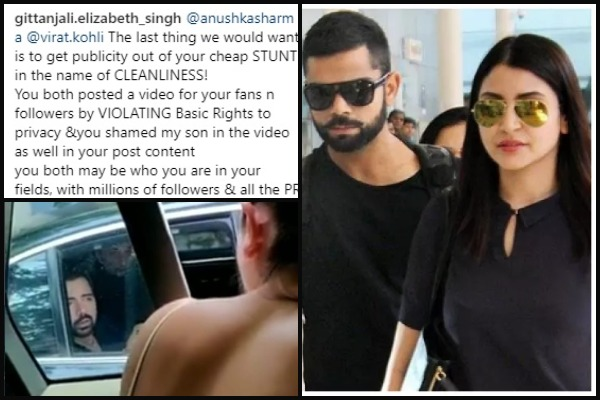 Garbage Feud: Anushka Sharma – Virat Kohli Get Schooled For Their Responsible Citizen Avatar
