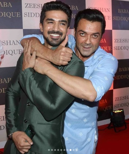 Bobby Deol at Baba Siddique's Iftar Party