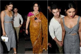 Nick Jonas Makes His Relationship Official With Priyanka Chopra After Meeting Her Mom In Mumbai